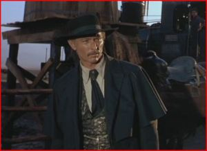 Lee Van Cleef como el Coronel Mortimer